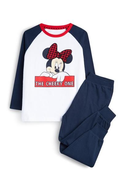 Younger Girl Minnie Mouse Pyjamas
