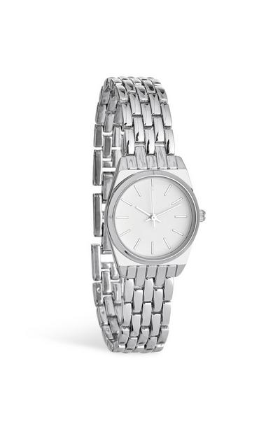 Silver Chain Wrist Watch