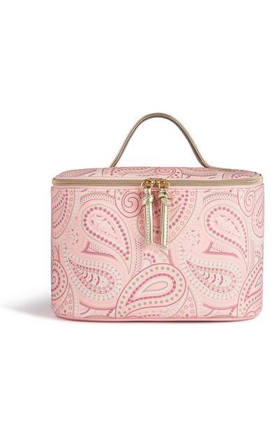 Paisley Print Vanity Bag