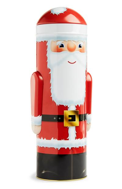 Large Santa Biscuit Tin