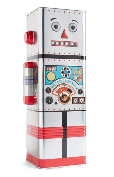 Robot Biscuit Tin