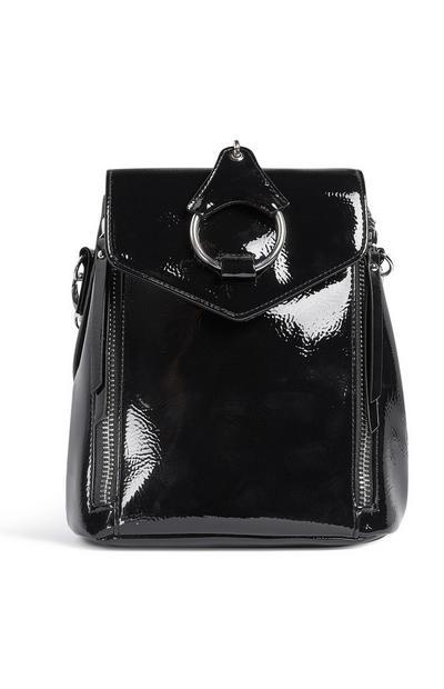 Hoop Patent Black Backpack