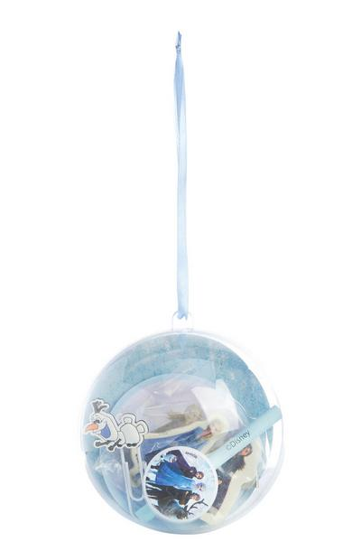 Frozen Stationery Filled Bauble Decoration