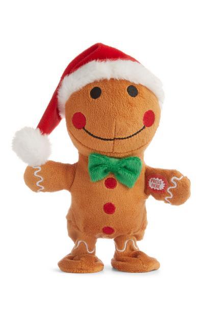 Christmas Walking Singing Gingerbread Man