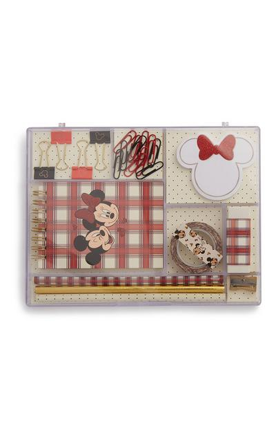 Minnie And Mickey Mouse Stationery Set