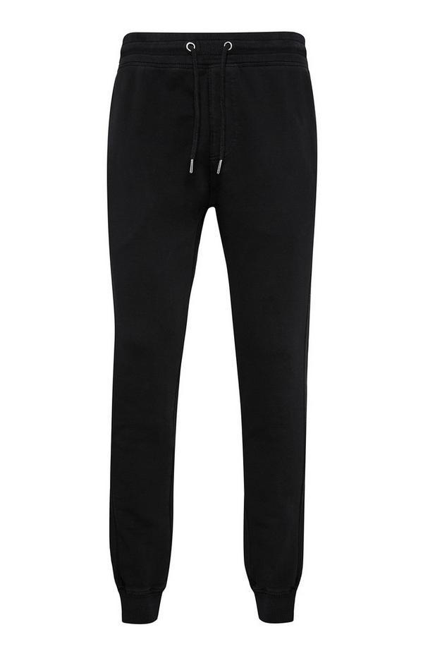 Schwarze Premium-Jogginghose