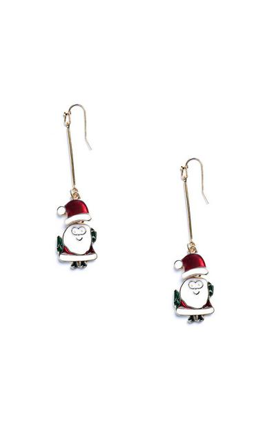 Santa Drop Earrings