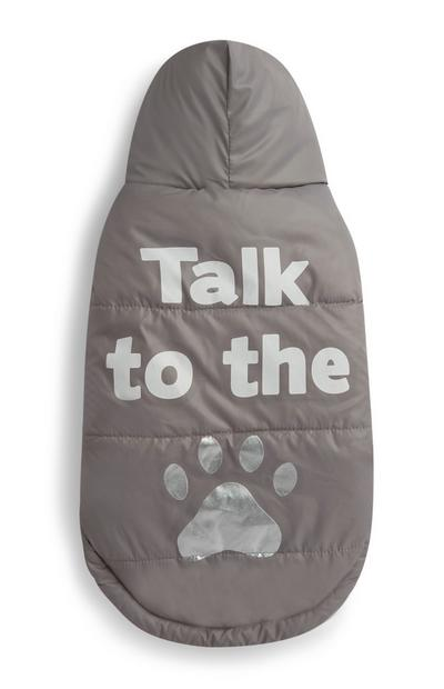 Light Brown Talk To The Paw Dog Outfit