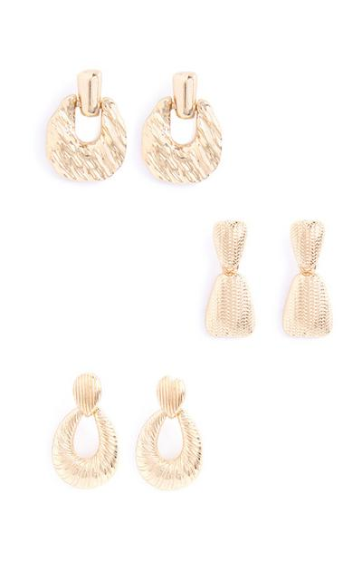 Drop Earring 3Pk