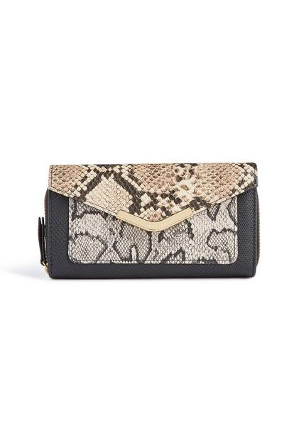 Snake Print Larger Purse