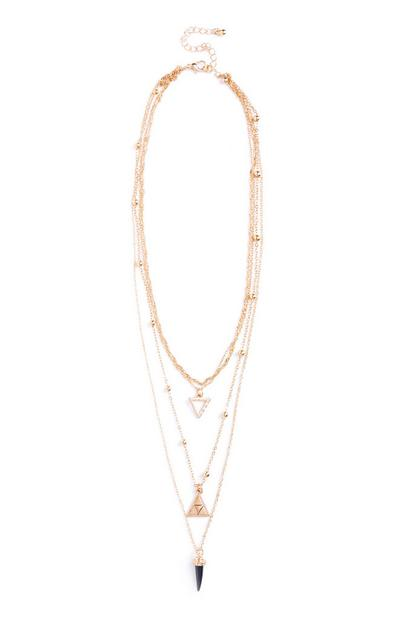Black Layer Necklace