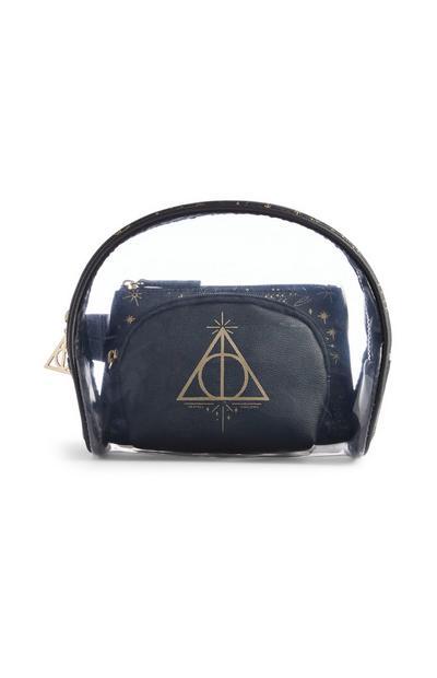 Harry Potter Deathly Hallows Makeup Bag