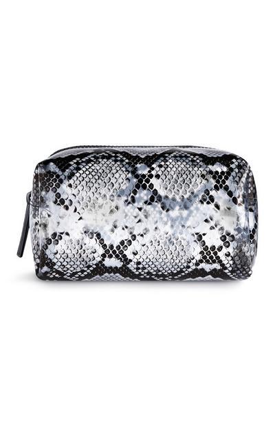 Snake Print Make-Up Bag
