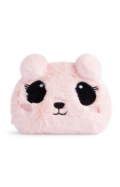 Pink Novelty Make-Up Bag
