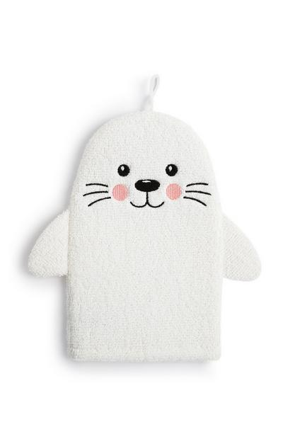 White Seal Wash Mitt