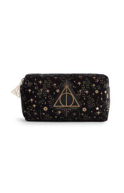 Harry Potter Velvet Makeup Bag