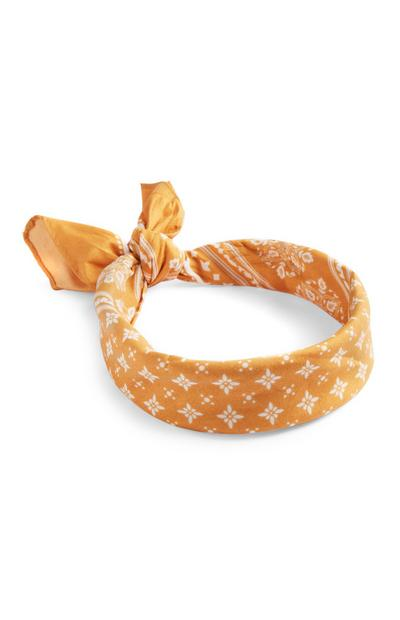 Yellow Bandana Headband