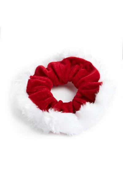 Santa Claus Scrunchie