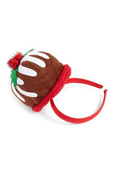 Christmas Pudding Headband