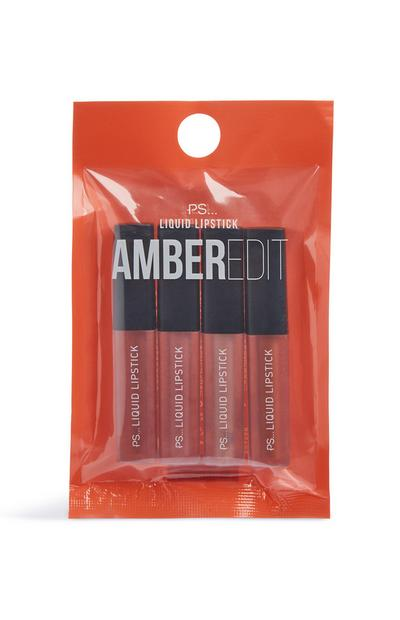 Amber Edit Liquid Lipstick