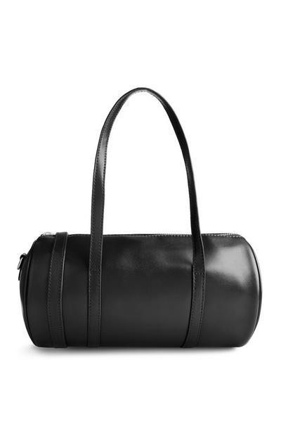 Schwarze Bowlingtasche
