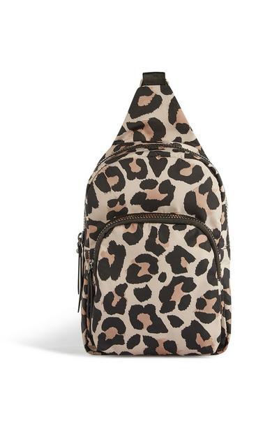 Cheetah Print Cross Body Bag
