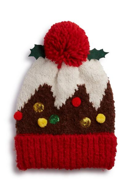 Christmas Pudding Hat
