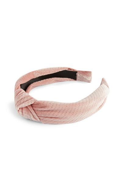 Satin Velvet Knot Headband