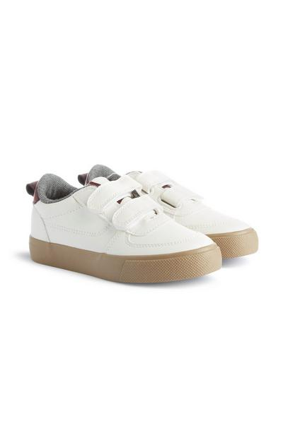 White Velcro Trainer