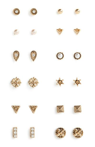 Mixed Earring 12Pk