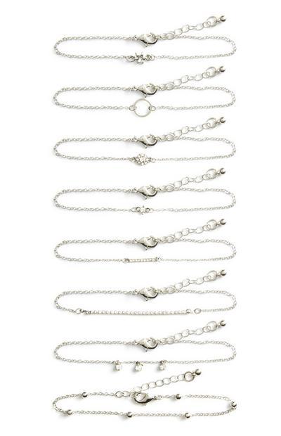 Mixed Bracelet 8Pk