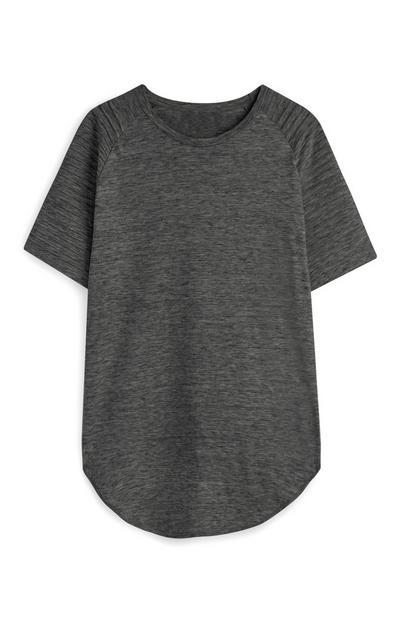 Charcoal Raglan T-Shirt
