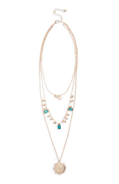 Gem Layer Necklace