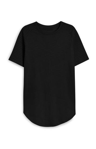 Black Biker T-Shirt