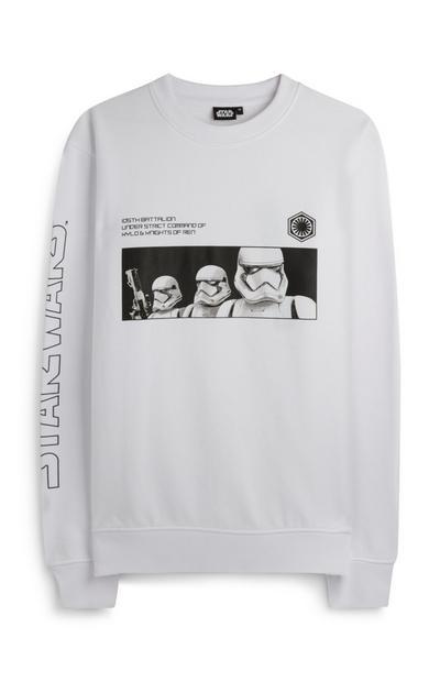 White Star Wars Stormtrooper Jumper