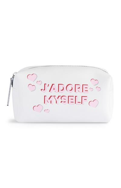 Jadore Myself Clear Make-Up Bag