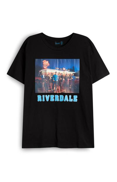 Black Riverdale Cast Photo T-Shirt