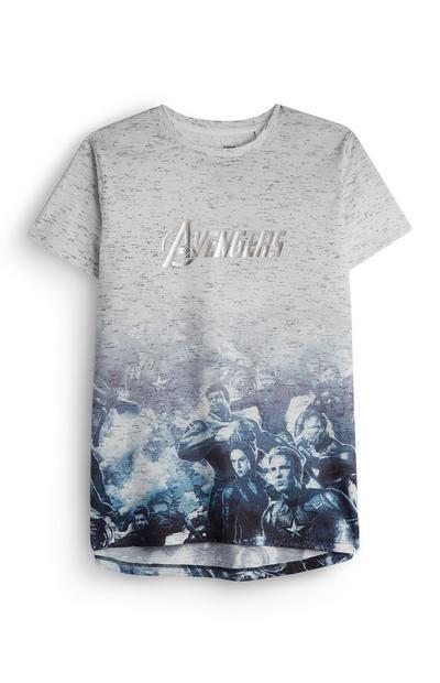 Older Boy Avengers Foil T-Shirt