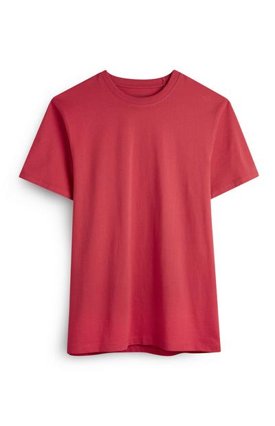 Red Boxy T-Shirt