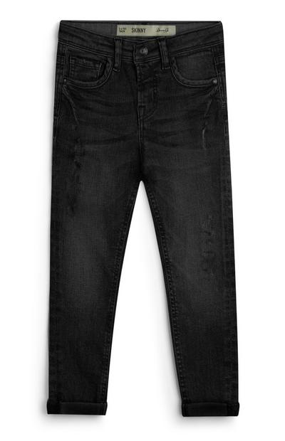Younger Boy Black Skinny Jeans