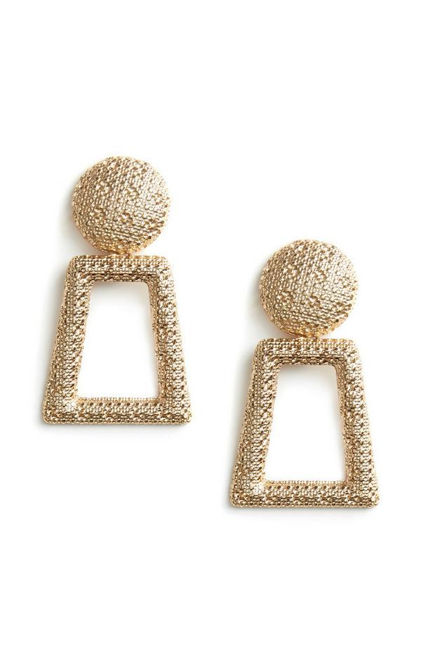 Keyhole Drop Earrings
