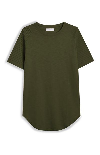 Pink Raglan T-Shirt
