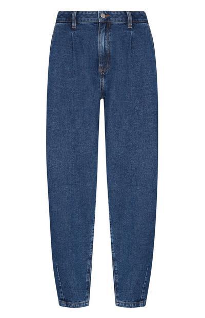 Blue Balloon Leg Jean