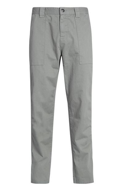 Light Khaki Carpenter Trousers
