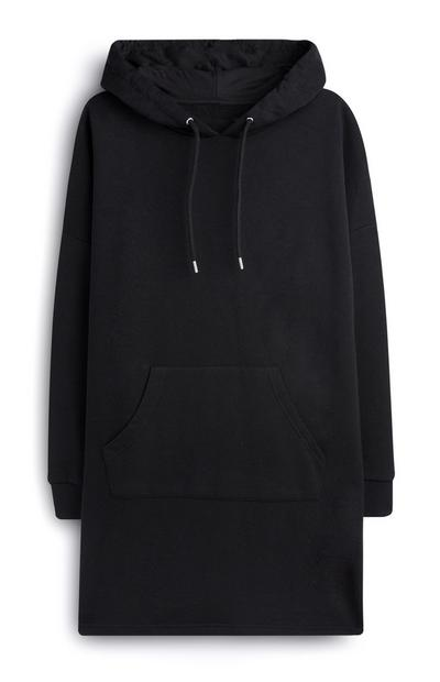 Black Hooded Dress