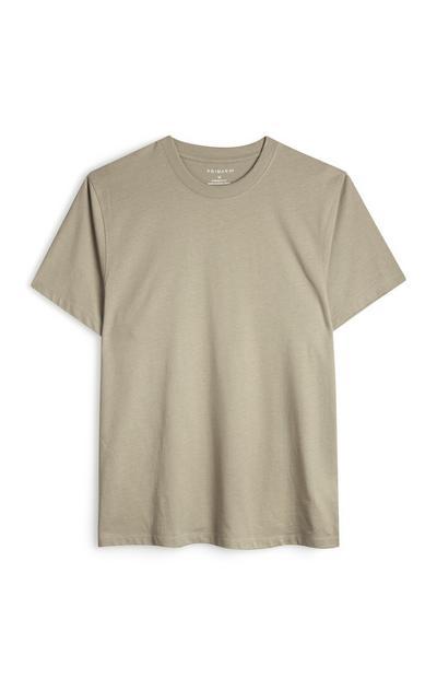 Stone Boxy T-Shirt