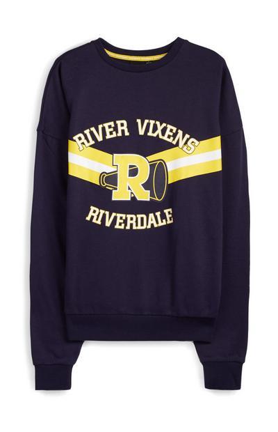 Navy Riverdale River Vixens Jumper