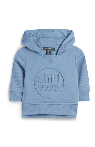 Baby Boy Light Blue Hoodie