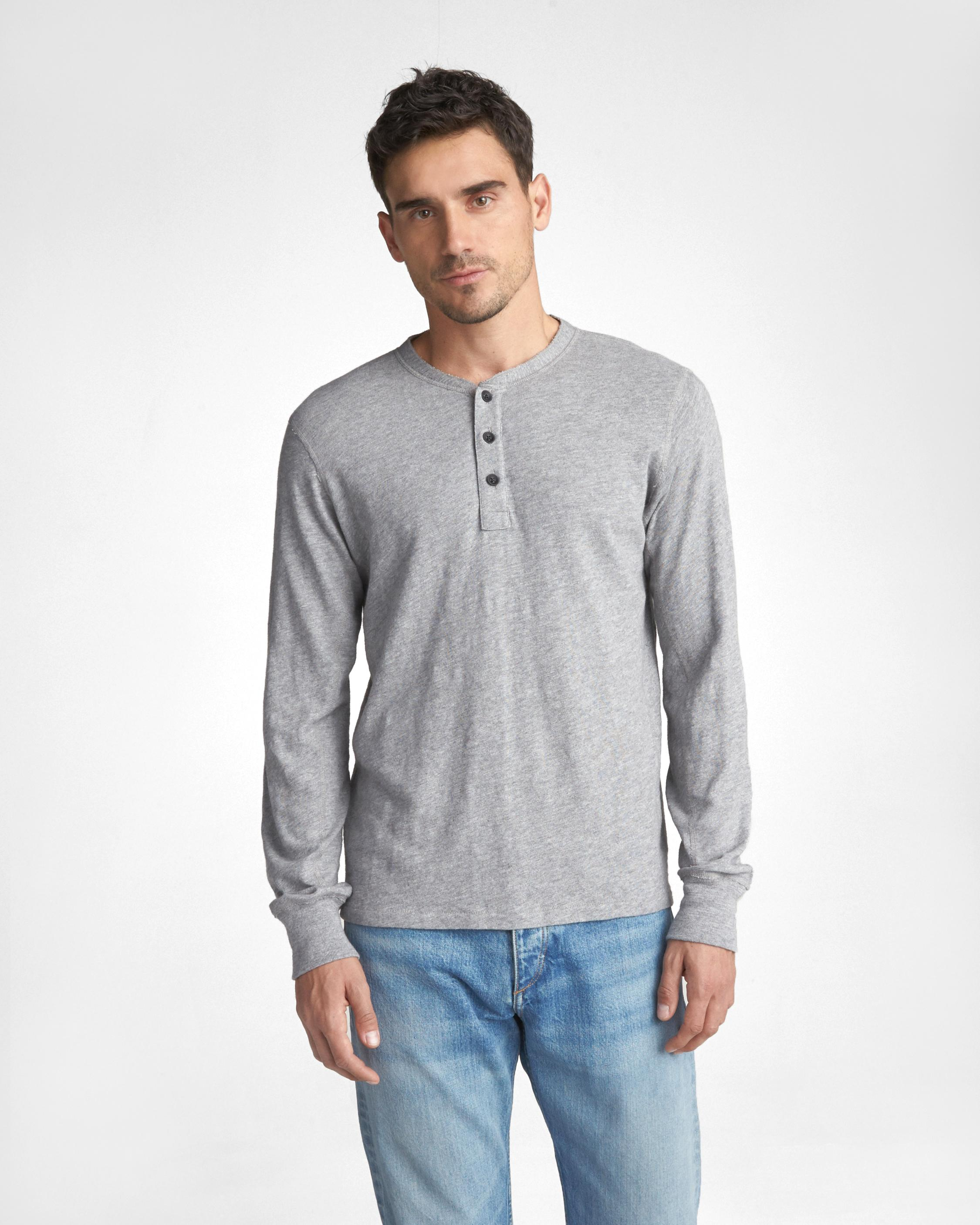 Fast Express Best Prices For Sale rag & bone Classic Cotton Henley XbLIEdDB4