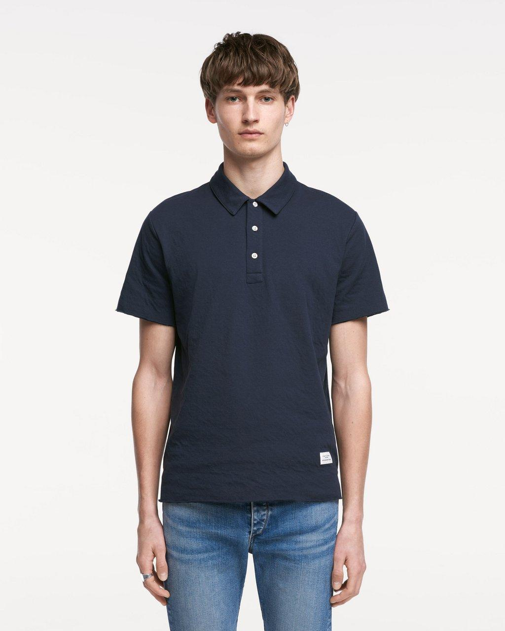 STANDARD ISSUE DOUBLE KNIT POLO